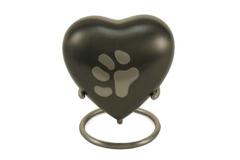 Keepsake Heart- Odyssey Large Single Paw Image