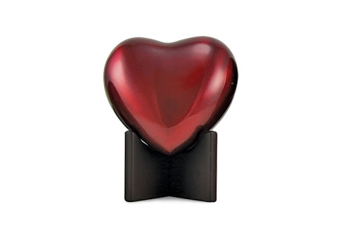 Arielle Heart Urn - Ruby Image