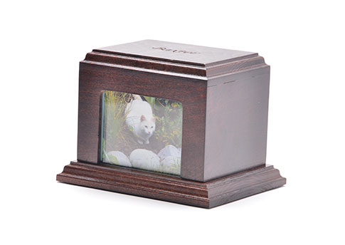 Photo Urn- Walnut Image
