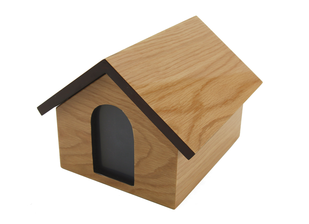Dog House Urn- Tan Image